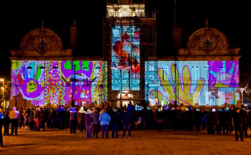 Digital Art shines a light in Corby