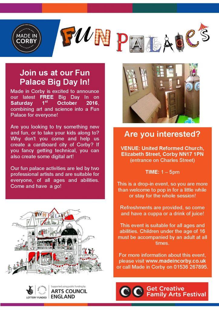 Fun Palace Leaflet