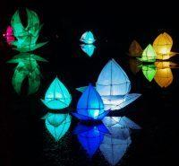 Same Sky Lantern - Corby Mardi Gras