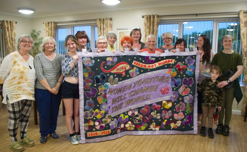 Corby Women Involved in Historic Procession