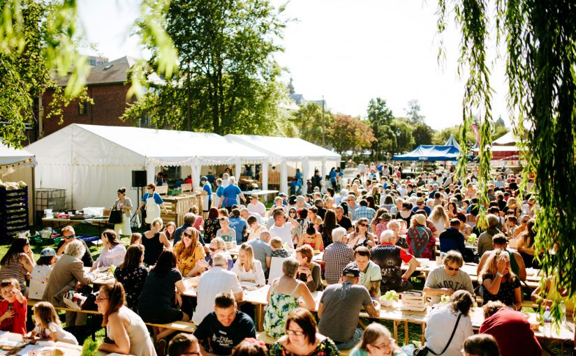 Tickets for Grow Festival's appetising community feast are now on sale