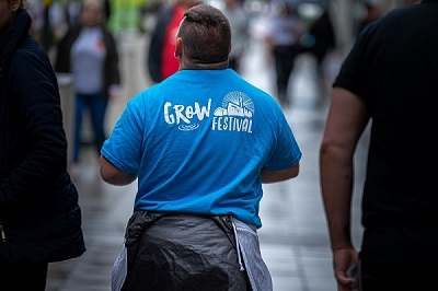 Volunteer at Grow Festival 2020