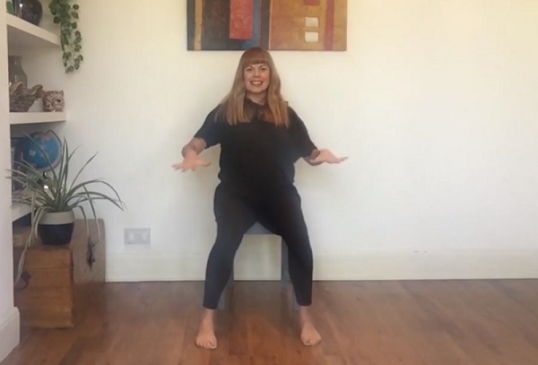 Seated Dance with Tina Heeley (part 2)